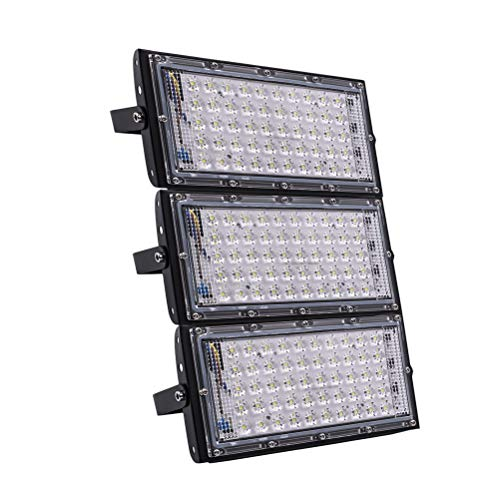 30W Slim LED Floodlight SMD Garten Sicherheit Flutlicht Warmweiß 220V