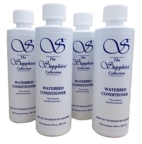 Sapphire Collection Blue Magic Waterbed Conditioner, 8oz. - 4 Bottles