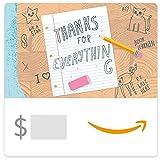 Amazon eGift Card - Thank You Teacher (Desk)