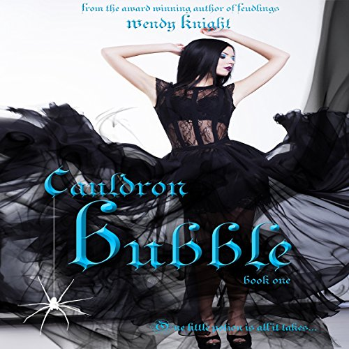 Cauldron Bubble audiobook cover art