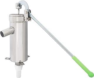 Cific 井戸 手押しポンプ ステンレス 排水 取水 説明書付 中実ハンドル