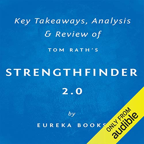 StrengthsFinder 2.0 by Tom Rath audiobook cover art