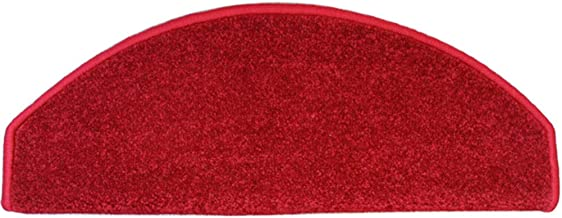 HAIPENG Non Slip Stair Carpet Treads Pads Self Adhesive Runner Rugs Thicken Environmental Protection Red Customize, 2 Size...