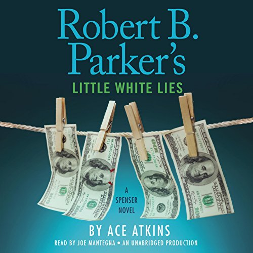 Robert B. Parker's Little White Lies audiobook cover art