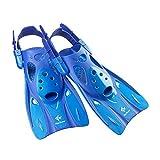 リーフツアラー(REEF TOURER) シュノーケリング フィン ストラップフィン ブルー Sサイズ RF0106