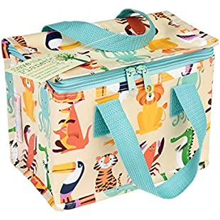 Insulated Children's Lunch Bag -Colourful Creatures:Iracematravel