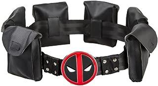 Valley Railway Deadpool Cosplay Belt with Metal Buckle Halloween Costume
