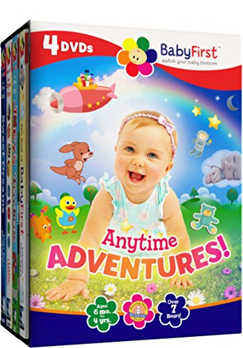 BabyFirst: Anytime Adventures Bundle (Best of BabyFirst Volume 2, Joeys ToyBox, Baby Class Little Lessons, Sweet Dreams)
