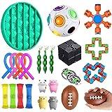 Juguetes Sensoriales,Kit de Juguetes Antiestrés,para Aliviar el Estrés para Niños/Adultos,Sensory Fidget Toys Set de Juguetes sensoriales Set de Juguetes sensoriales para TDAH