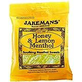 Jakemans Throat & Chest Lozenges Honey & Lemon Menthol (Pack of 4)