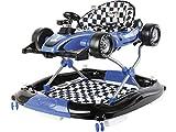 CUORE BABY Trotteur Bleu 2 en 1 Formule 1 Activités