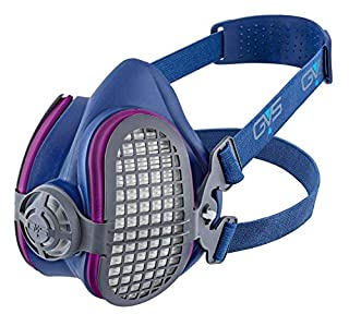 GVS SPR451 Elipse P100 Dust Half Mask Respirator with replaceable and reusable filters included, Blue (B013SIIBME) | Amazon price tracker / tracking, Amazon price history charts, Amazon price watches, Amazon price drop alerts