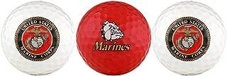 EnjoyLife Inc USMC United States Marine Corps Golf Ball Gift Set