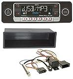 caraudio24 Dietz BOA Retro_201_BT Bluetooth SD CD MP3 USB Autoradio für VW Polo T4 Passat Golf (98-04)