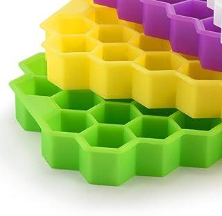 Moldes y bandejas para hielo,Bandeja de hielo de nido de abeja de silicona de