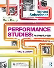 richard schechner performance studies an introduction