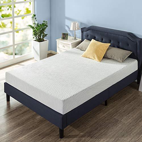 Zinus 8 Inch Green Tea Pressure Relief Gel Memory Foam Mattress/Cooling Mattress/Zoned Airflow Design/Bed-in-a-Box, King