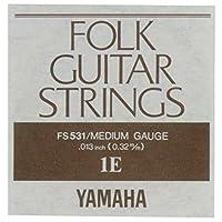 YAMAHA FS531 アコースティックギター用 バラ弦 1弦×6本