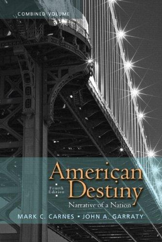 Price comparison product image American Destiny: Narrative of a Nation