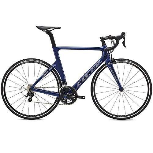 Kestrel 2019 Talon X Aero Carbon Road Bike with 105 Components (Blue, 55cm - 5'10' to 6')