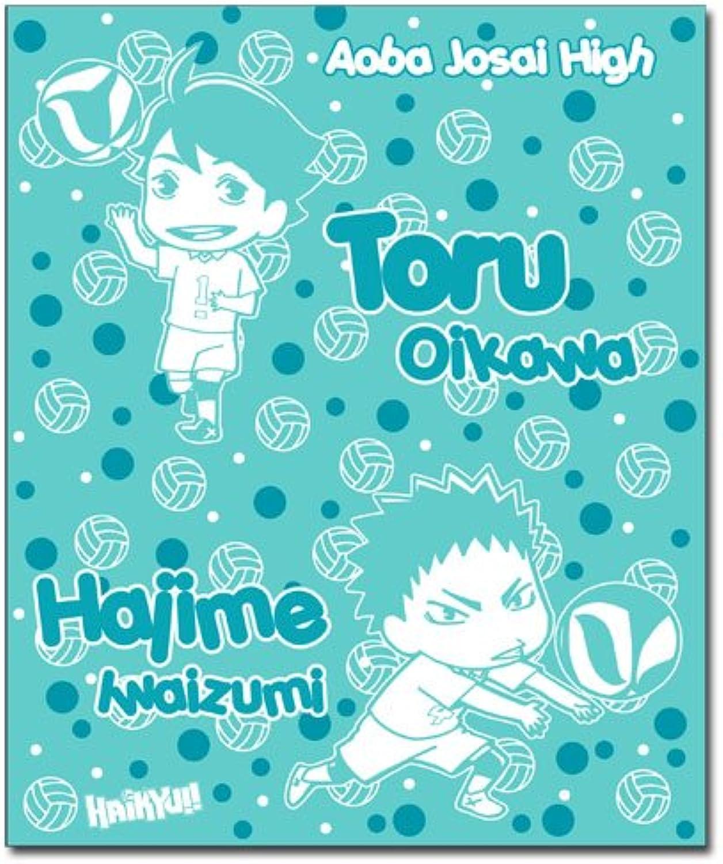 Blanket  Haikyu    Toru & Hajime Fleece Throw Anime Licensed ge57768