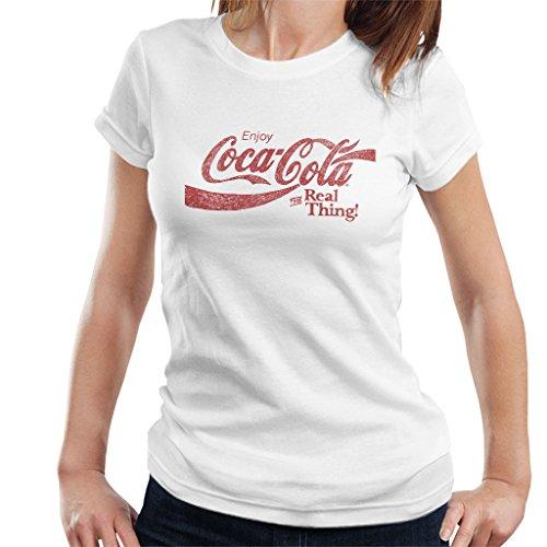 Preisvergleich Produktbild Coca-Cola The Real Thing Women's T-Shirt