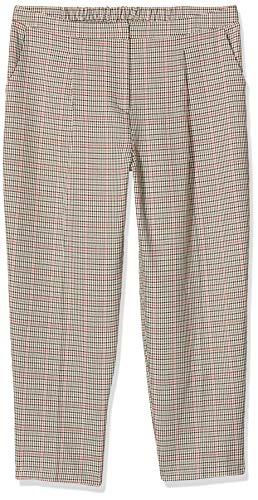 New Look T Bella Check Slim Leg TRS Pantalon, Marron (Motif 29), 36 Femme