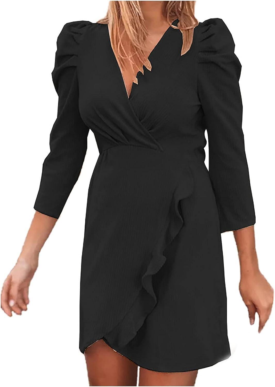 Women's Office Business Casual Work Blazer Dress Bodycon Cocktail Party Pencil Midi Dress Flowy Tunic Dress