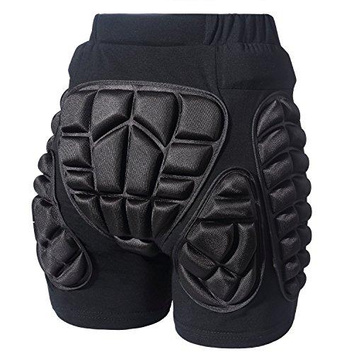 Pantalones cortos de protección para bicicleta y snowboard