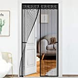 Magnetic Screen Door Outside Balcony Curtains Anti Insects Yard Room Porch Folding Easy to Closure-200270 cm(7778.7inch)