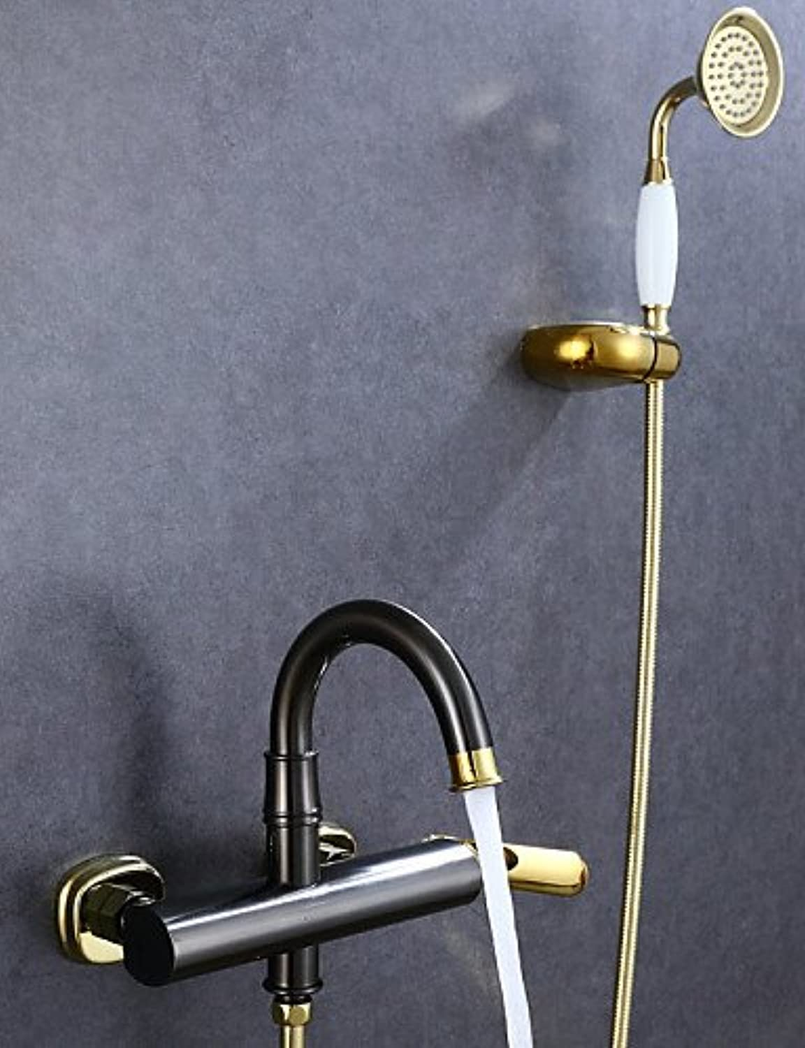 DF Shower Faucet Antique Handshower Included Brass Oil-rubbed Bronze