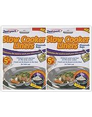 Pajee 10 Pack Langzame Cooker Liners Koken Zakken voor Ronde & Ovale Fornuizen TM