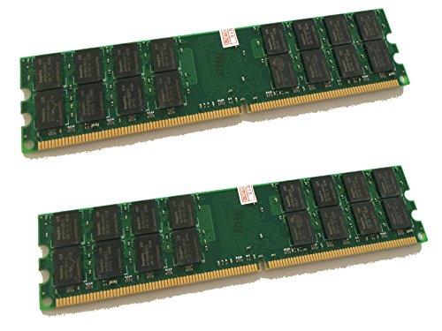 Memorycity - Memoria RAM DDR2 (8 GB, 800 MHz, 2 módulos de 4 GB, PC2-6400, PC6400, 240 pines, compatible con 533/667 MHz, para AMD y VIA, no compatible con Intel)