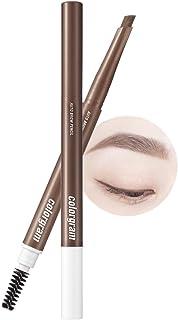 COLORGRAM Artist Formula Auto Brow Pencil 0.25g- True Beauty K-Drama Makeup, Built-in-Spoolie, Clump-Free Formula, Softly ...