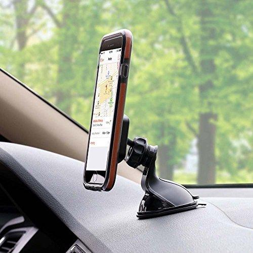 IL PIÙ VENDUTO  Supporto Magnetico Auto Universale Cruscotto Vetro 360 Gradi Smartphone Porta Telefono per iPhone 7/ 6 / 6s / 5s / 5 / Sony / Samsung / Huawei / Xiaomi / One Plus
