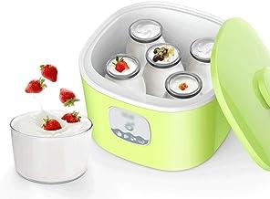 XYHAD Smart Yogurt Machine Glass Liner and 5X 100ml Cups Household Small Mini Natto Rice Wine Machine