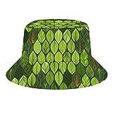 Brand Free Resumen patrón sin costuras en colores azules sombrero de cubo para mujeres gorra de pesca sombreros de sol para actividades al aire libre
