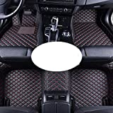 ABWIGS Alfombrillas De Coche para Ford Fusion Mondeo 2013 2014 2015 2016 Alfombras De Cuero Personalizadas para AutomóViles Alfombras Accesorios Interiores
