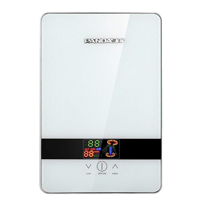 安定した期待して相対的6KW恒温電子ディスプレイ付きインスタントバスルーム給湯器(カラー:ブルー)