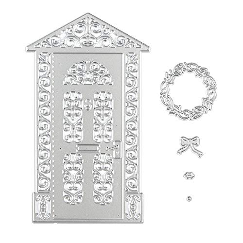 Metal Cutting Dies Embossing Stencil Big House Die Cuts for Card Making Scrapbooking Paper Craft Album Stamps DIY Décor