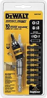 DEWALT DWPVTSET Pivot Holder Set with Bit Bar, 10-Piece