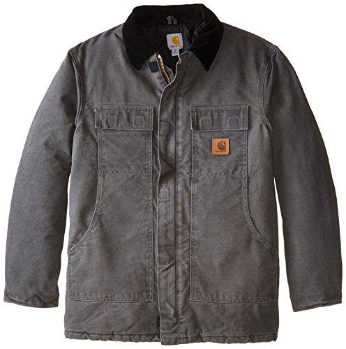Carhartt Herren Mantel Big & Tall Arctic-Quilt gefüttert Sandstone Duck Traditioneller Mantel C26 - Mehrfarbig - 3X-Groß