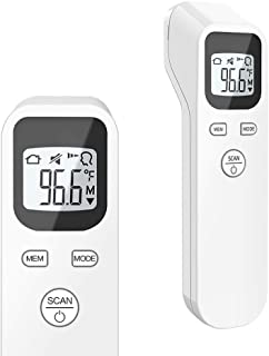 ULBRE Forehead Thermometer for Baby Kids and Adults Accurate Instant Reading Forehead Thermometer with LCD Display