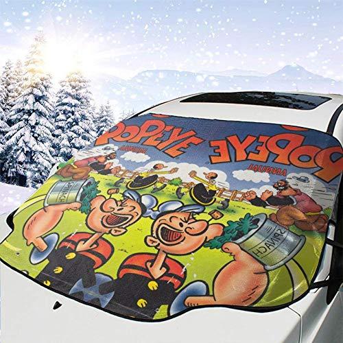 Favorite Dibujos animados comedia Pop-eye Sail-or education comics Oliva Magnético Parabrisas Protector de Coche Cubierta UV Bloque de Regalos de hielo