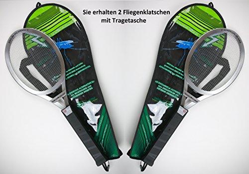 Geschenk-Himmel Hochwertige Elektrische Fliegenklatsche Insekten Schröter (2Stk. Fliegenklatschen)
