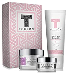 BEAUTIFUL GIFT BOX FOR WOMEN: No Wrapping Paper required for this Spa Gift! Perfect for Rejuvenating Skin. Glycolic Acid Exfoliating Cleanser, Cellular Defense Face Moisturizer with Vitamins A C E + Chamomile, and Eye Renewal Therapy with Peptides an...