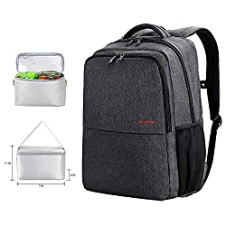 Multi functional work backpack with lunch compartment