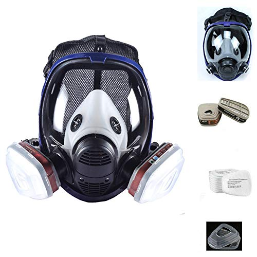 15in1 Full Face Respirator Full Face Cover for Painting ,Woodworking, Machine Polishing, Welding and Other Work