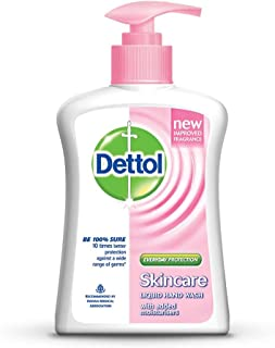 Dettol Skincare Liquid Hand Wash 200ml