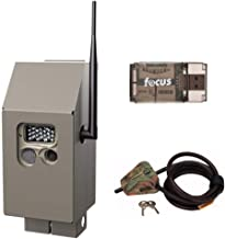 Cuddeback CuddeSafe Security Box for J-Series Trail Cameras with Master Lock Cable Lock Kit